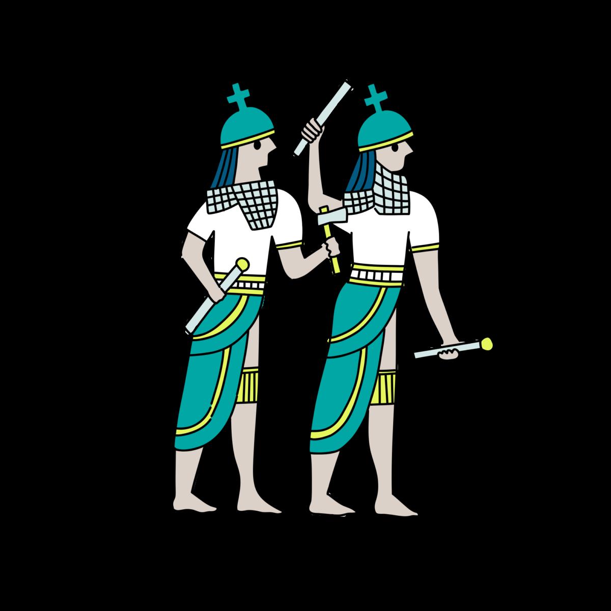 バビロニアの天文学-双子座